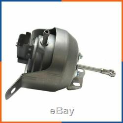 Turbo Actuator Wastegate pour Fiat Scudo 2.0 D Multijet 4x4 128cv, 807489-0001