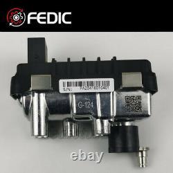 Turbo actuator 755299 G-124 730314 6NW009228 for VW V10 TDI Rechts 230 Kw 313 CV